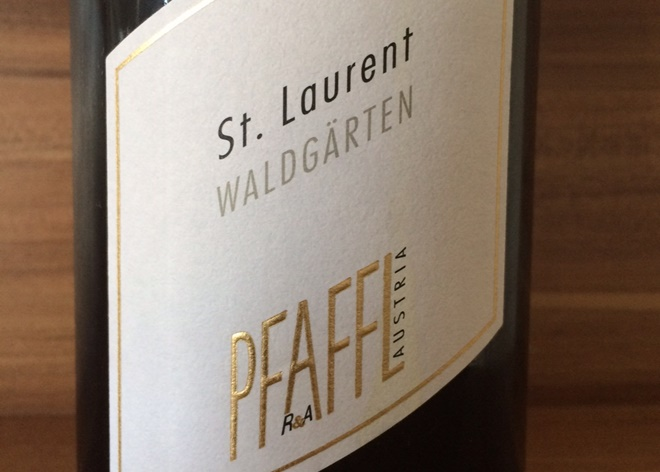 Photo of Østrigsk vin: St. Laurent Waldgärten 2012, Pfaffl