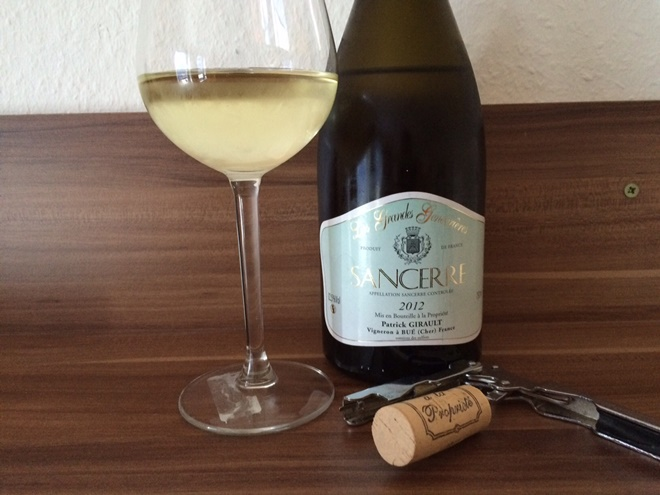 Photo of Fransk vin: Sancerre AOC, Les Grandes Genevrieres 2012, Girault