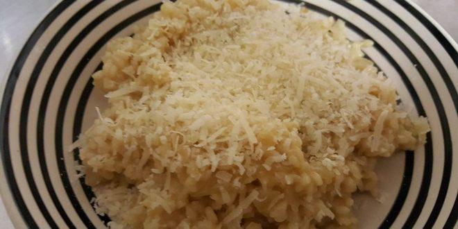 Risotto med Parmigiano Reggiano