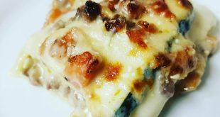 Hvid lasagne med squash