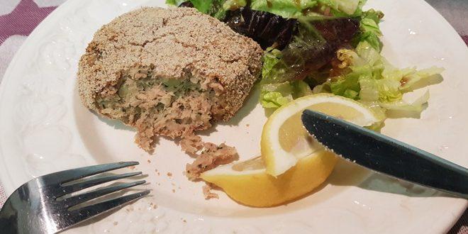 Tunkage med en blandet salat er både sundt og velsmagende.