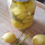 Marokkanske saltsyltede citroner