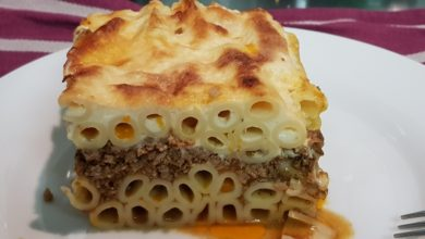 Photo of Pastitsio: Græsk lasagne med et twist