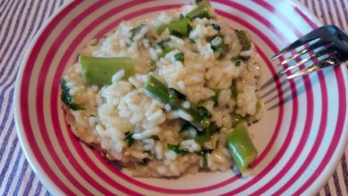 Photo of Risotto med ramsløg og asparges