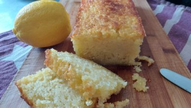 Photo of Saftig citronkage – Lemon Drizzle Cake
