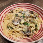 pasta med champignon og squash