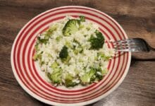Risotto med broccoli