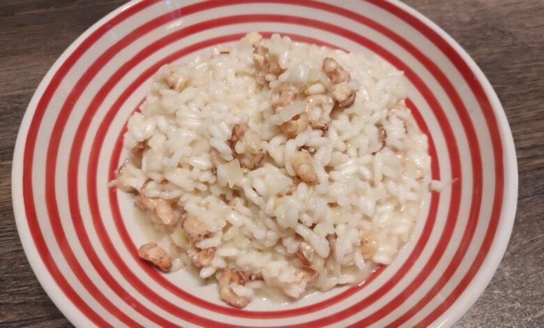 risotto med rejer