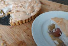 Stikkelsbærtærte med marengs